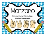 Marzano Scale and Rubric ~ Primary Grades