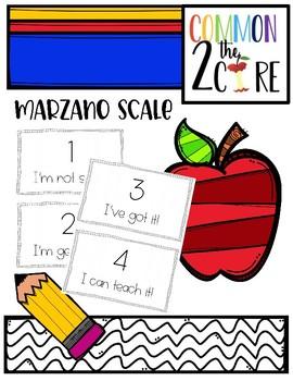Marzano Scale for the Classroom