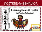 Scales for Positive Classroom Behavior #WeHoldTheseTruths #KindnessNation