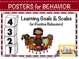 Scales for Positive Classroom Behavior #WeHoldTheseTruths