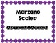 Marzano Scales for Speech and Language