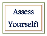Marzano Self-Assessment Posters