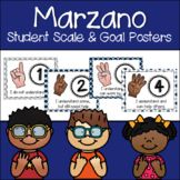 Marzano Set of Learning Scale, Goal & Target Posters in Bl