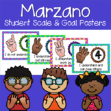 Marzano Set of Learning Scale, Goal & Target Posters in Po
