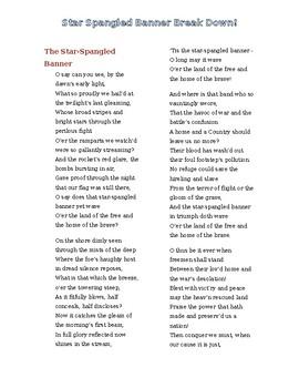 Marzano- Star Spangled Banner