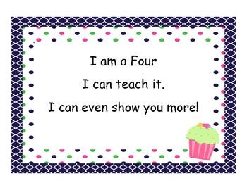 Marzano Student Levels - Cupcake Theme