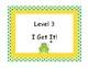 Marzano Student Levels Frog Themed Classroom