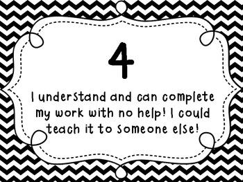 Marzano Student Self Evaluation