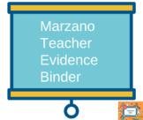 Marzano Teacher Binder- FULL VERSION
