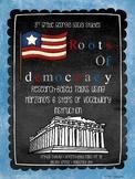 Democracy in Ancient Greece - Marzano Vocabulary Bundle: G