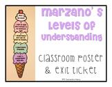 Marzano's Levels of Understanding