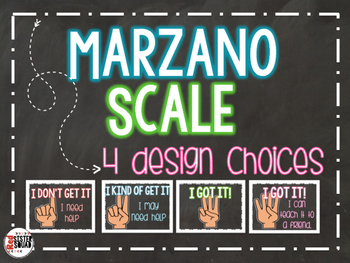Marzano student rating scale