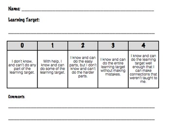 rubric for social studies research paper