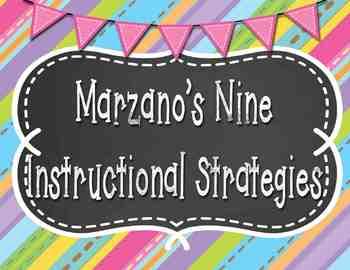 Marzano's Nine Instructional Strategies