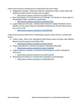 Marzano's Teacher Evaluation Model: Domain 1, Element 18 - Errors of Reasoning