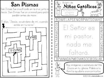 Marzo 2017 Boletín de Niños Católicos