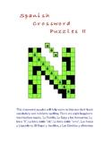 Spanish Crossword Puzzles II