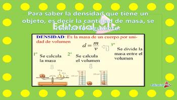 Masa y Volumen para Niños (Unidad de Medida y su Aplicación)