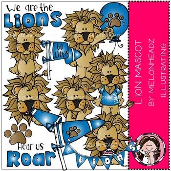 Mascot Lion clip art - by Melonheadz