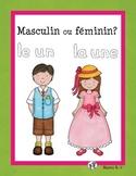 Masculin ou féminin?