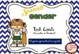I have, who has? Spanish Gender Nouns Task Cards (El género gramatical)