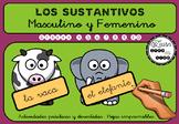 Masculino y Femenino - Spanish Lesson - Grades 4 to 10 - P