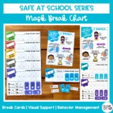 Mask Break Chart and Sign | Safe at School Series