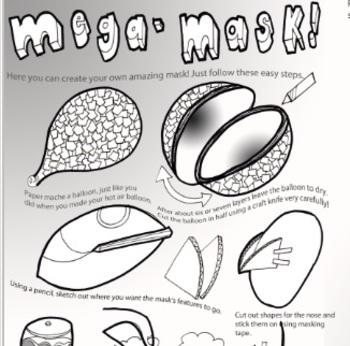 Mask Design and Paper Mache