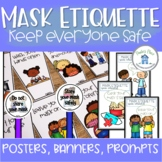 Mask Etiquette Posters Banners Prompts and Reader