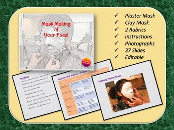 Mask Making - Plaster Bandages and Clay