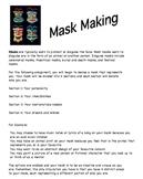Mask Making in Drama