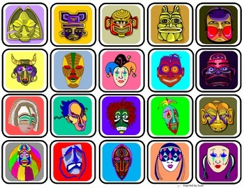 Mask Matching for Autism