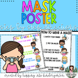 Mask Poster - How to Wear a Mask Visuals