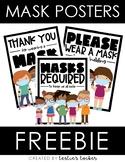 Mask Posters FREEBIE