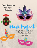 """Mask Project using """"We Wear the Mask"""""""