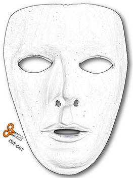 ancient greek mask template - mask template by danielle knight teachers pay teachers