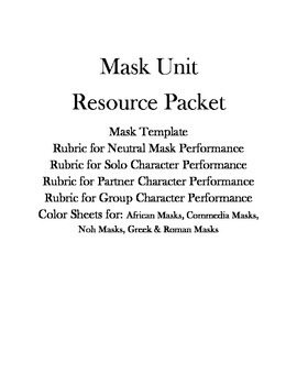 Mask Unit Resource Packet