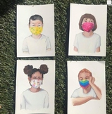 Masked and Unmasked Emotions Montessori Cards