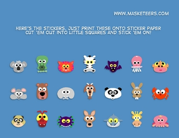 Masketeers Reward Chart