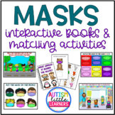 Masks:  Interactive Visual Books and Matching Activities