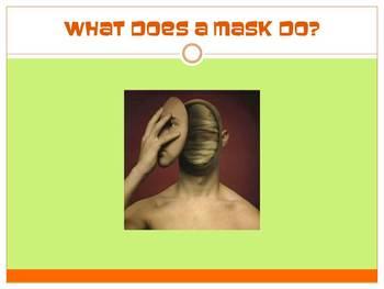 Masks PowerPoint Upper Middle/High School