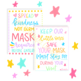 Masks Required Classroom Sign