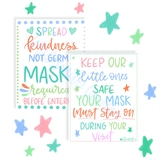 Masks Required in Classroom Sign