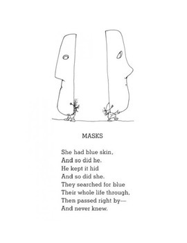 Masks by Shel Silverstein - Poem and Questions