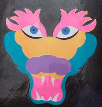 Masks of Circles (Dragon Face)