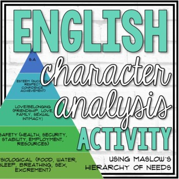 Maslow's Hierarchy Of Needs Worksheets & Teaching Resources