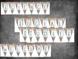 Mason Jar Classroom Theme Banner Bundle