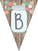 Mason Jar Classroom Theme Library Banner