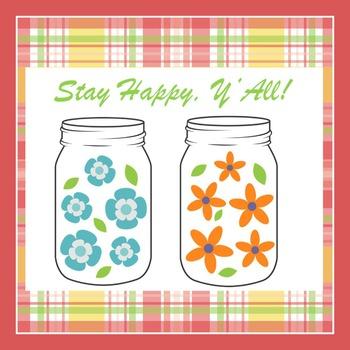 Mason Jar Classroom Theme | Mason Jar Classroom Decor | Posters