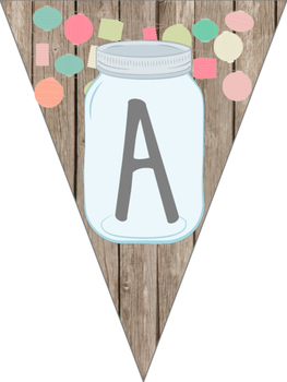 Mason Jar Classroom Theme Reading Banner